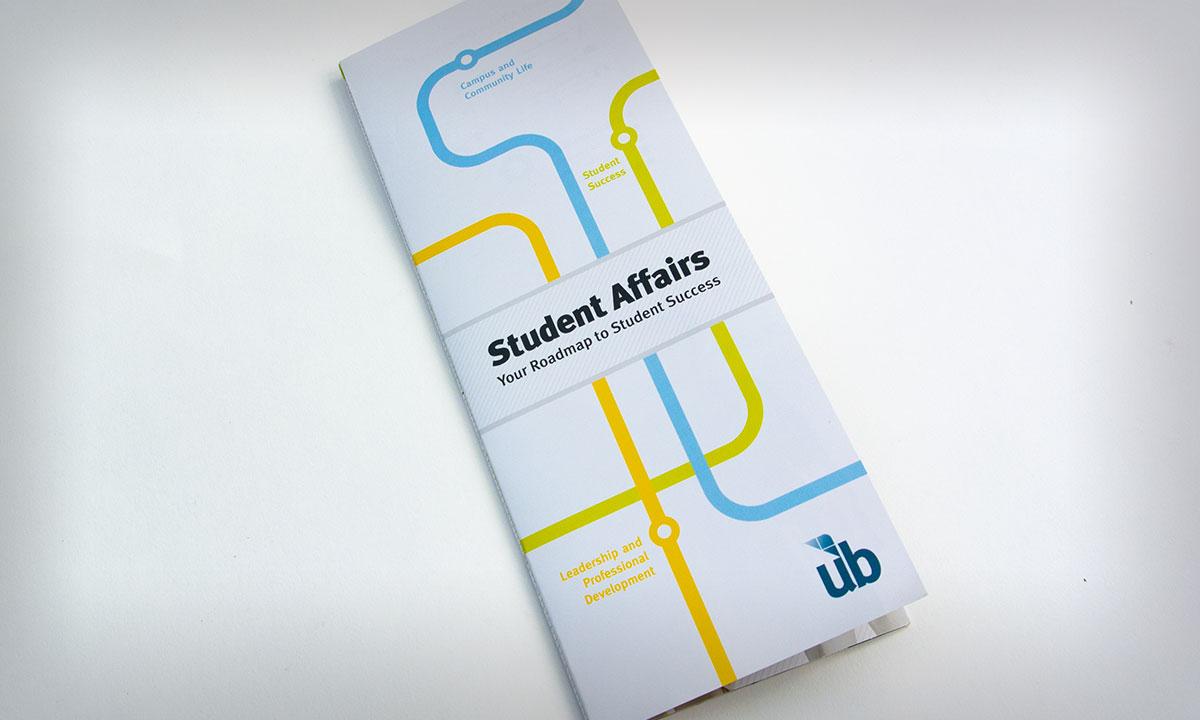 University of Baltimore Student Affairs Brochure