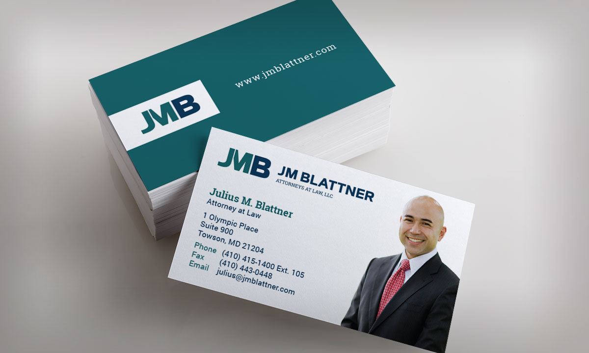 JM Blattner Business Cards