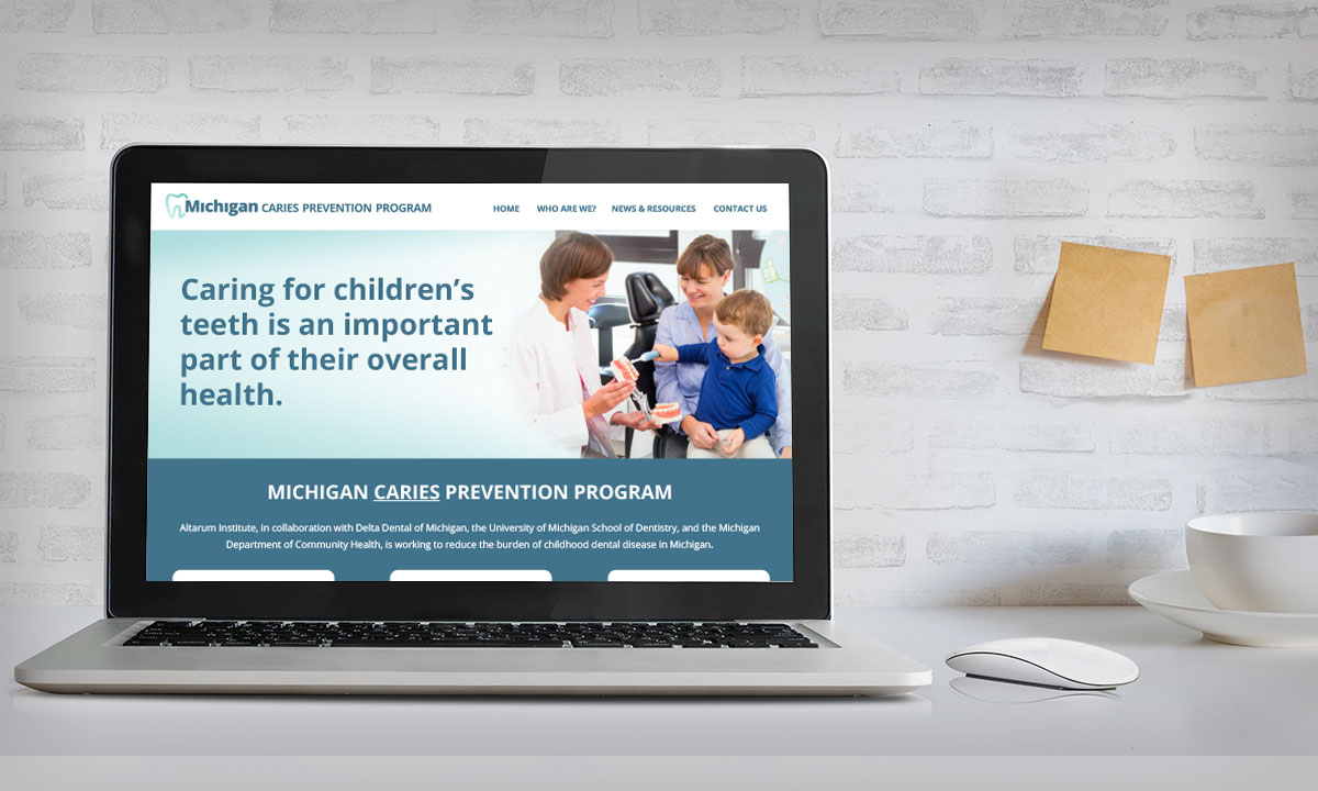 Michigan Caries Prevention Program Website