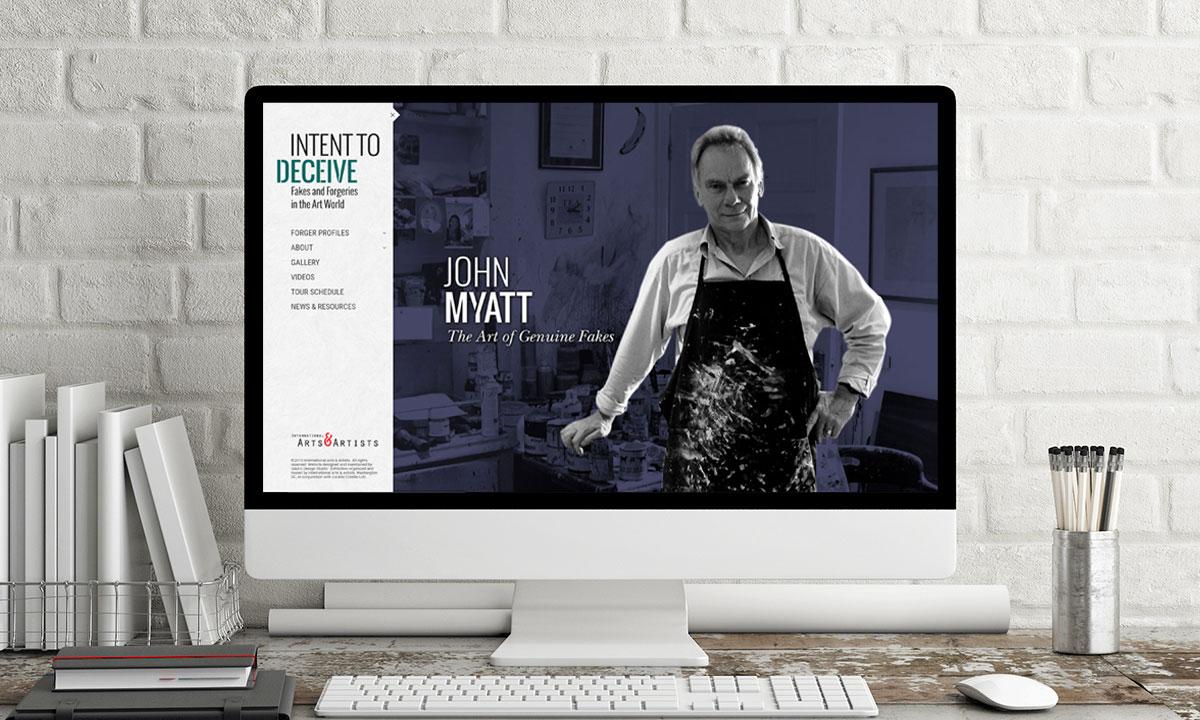 """""""Intent to Deceive"""" Website"""