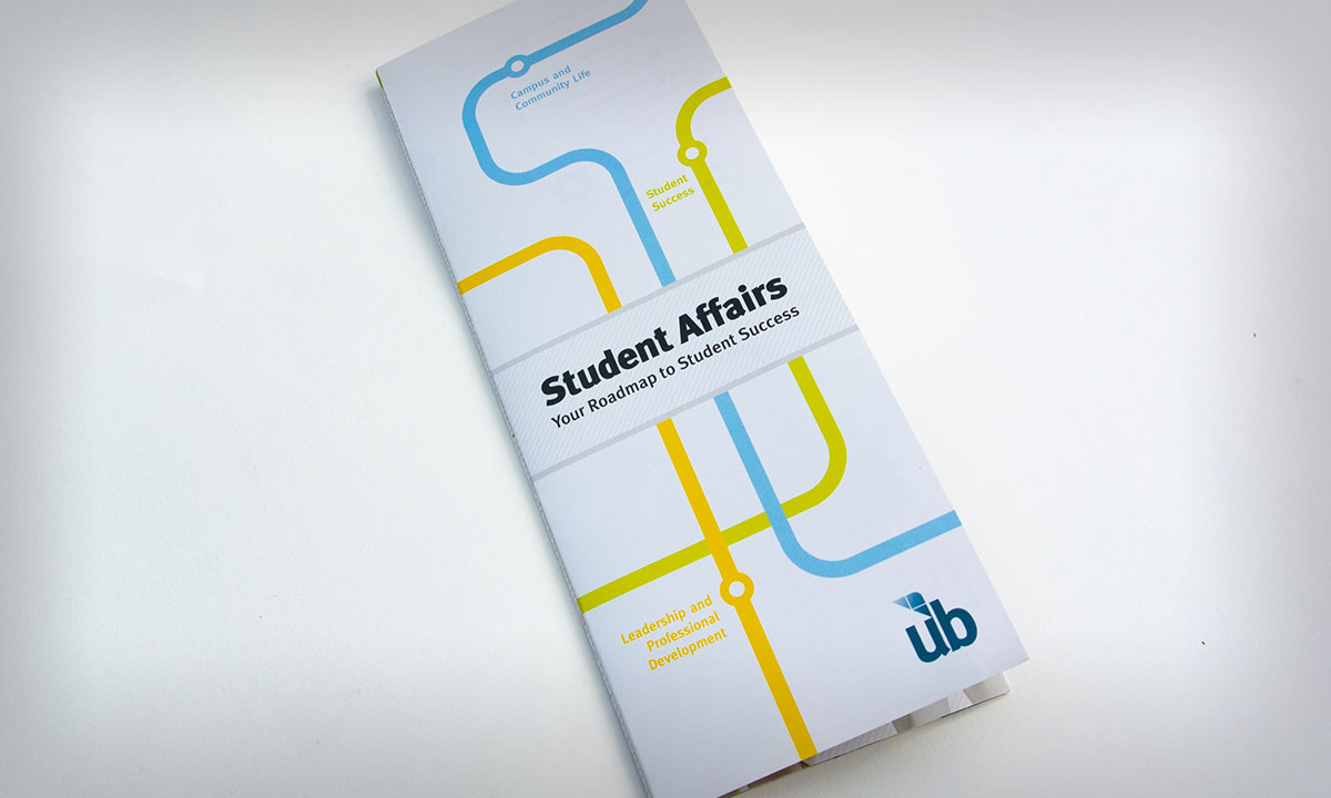 University of Baltimore Student Affairs Brochure